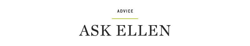 Ellen Fondiler | Advice
