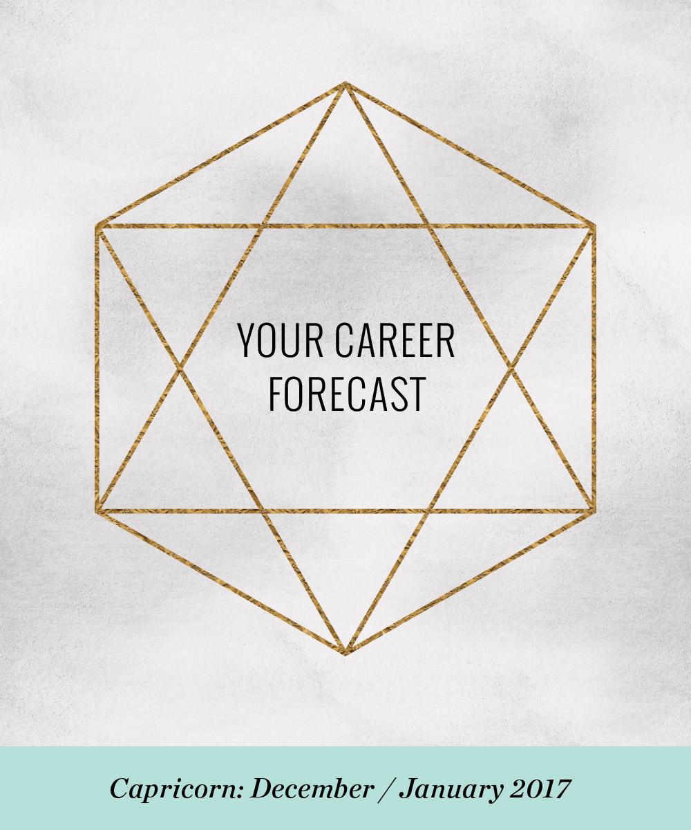 Ellen Fondiler | Your Career Forecast for Capricorn: December / January 2017