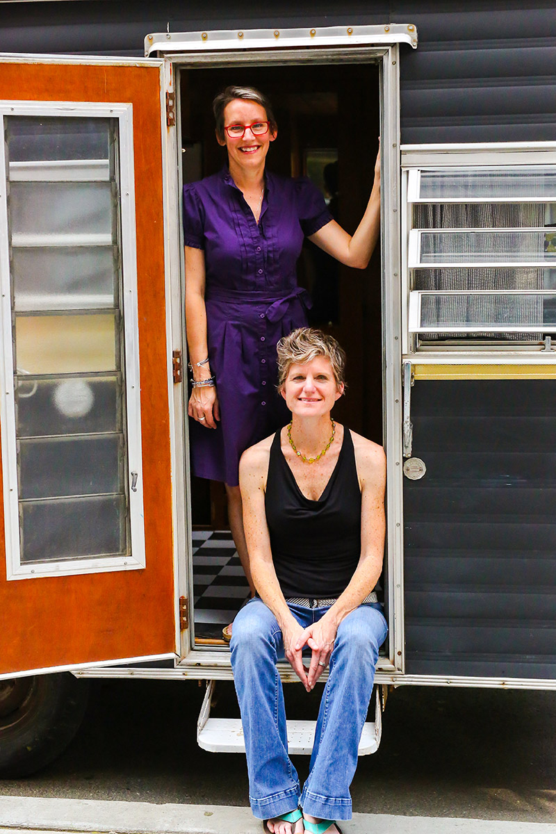 Unlocked Stories: Maya Stein and Amy Tingle: Poets, Bookmakers, and Co-founders of The Creativity Caravan