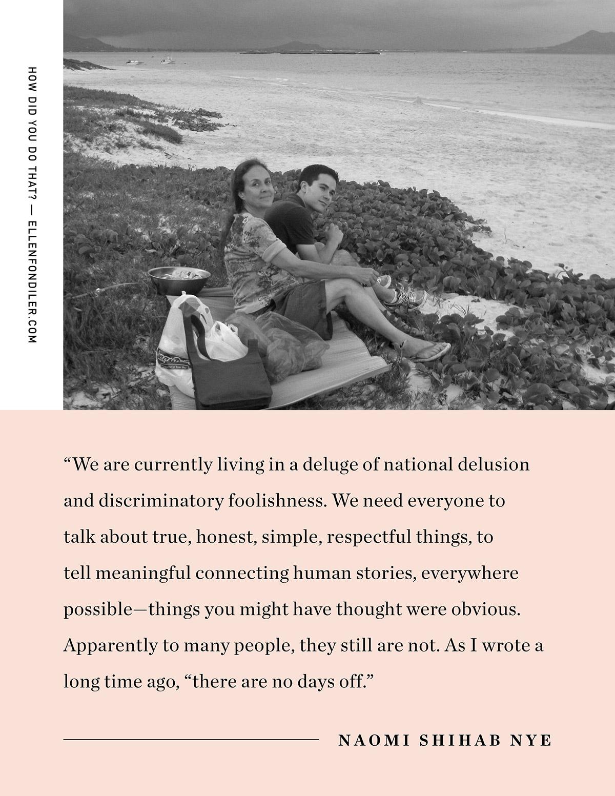Ellen Fondiler | Naomi Shihab Nye