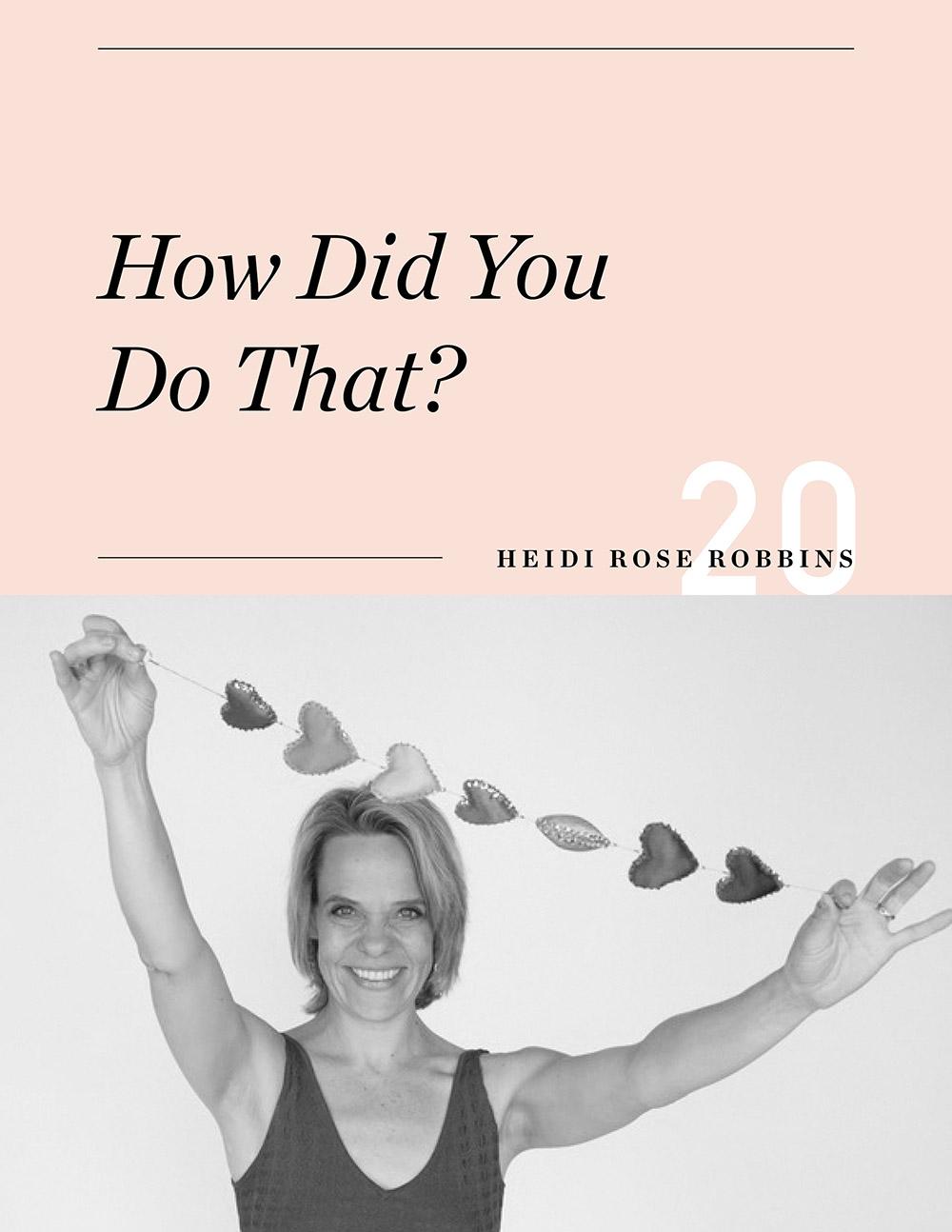 Ellen Fondiler | An Interview with Heidi Rose Robbins