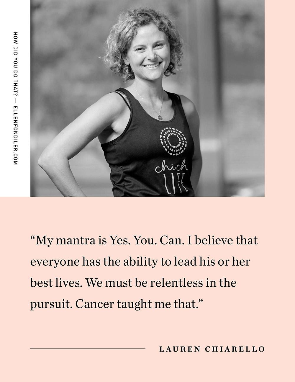 Ellen Fondiler | An Interview with Lauren Chiarello